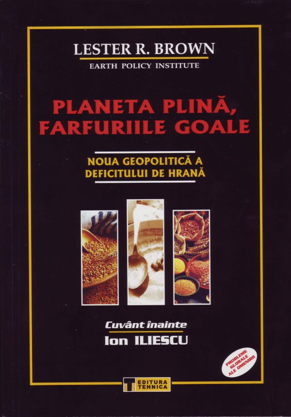 Romanian edition of Full Planet, Empty Plates